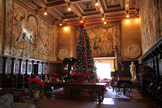 hearst castle, william hearst, san simeon california