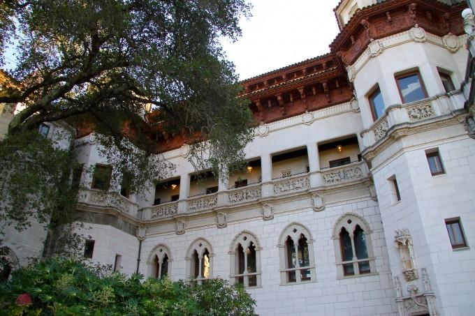 hearst castle, william hearst, san simeon. california